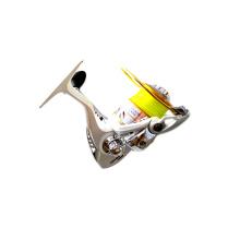 FSPR_SL16F carrete giratorio de aluminio carrete de metal mango CNC 5.5: 1 10 + 1BB