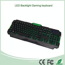 Accesorios del ordenador Precio bajo Venta caliente EL teclado retroiluminado del juego de las multimedias (KB-1901EL-G)