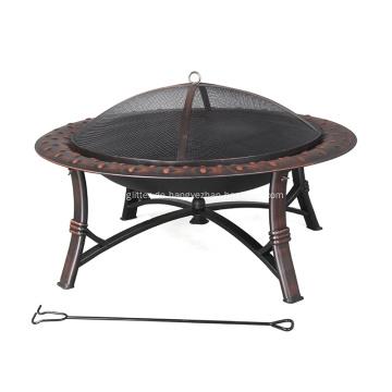 Hochtemperatur lackierter Stahl Holzofen Feuerstelle