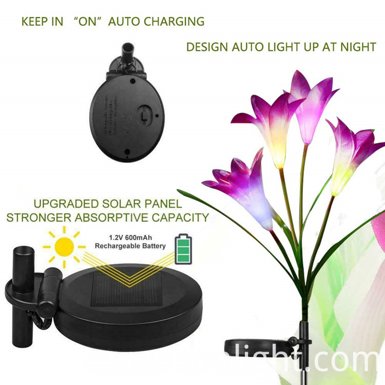 Solar Flower Light