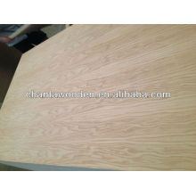 High grade 3mm red oak veneer plywood for furniture and decorative
