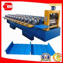 Laminado en frío del techo del metal de la costura derecha que forma la maquinaria Yx65-300-400-500