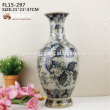 2016 Hot Selling Product High Quality Ceramic Material Porcelain Flower Vase,Porcelain Flower Vase