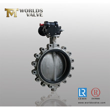 CF3m CF8m Ss316 Ss316L Lug Style Butterfly Valve with CE ISO Approved