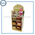 Rayonnage polyvalent réutilisable matérialisé d'affichage de magasin de détail, jouets légers d'impression de couleur