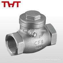 Cojinete de bola ajustable de la válvula de retención del tubo de la bola de 2 3 bolas