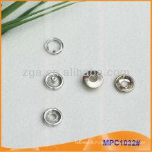 Prong Snap Button / Gripper avec anneau de mode anneau MPC1032
