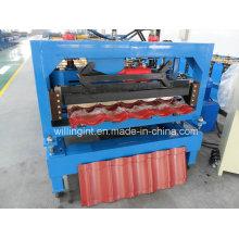 Ce Farbe beschichtete Stahlziegel-Dach-Rollformmaschine