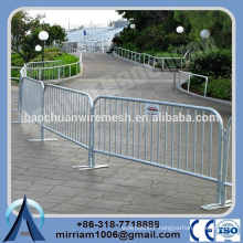 cheap cost Outdoor used welded hot dip galvanized Crowed Control Barrier