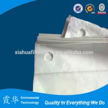 China fornecedor cimento e indústria alimentar filtro de pano de arame