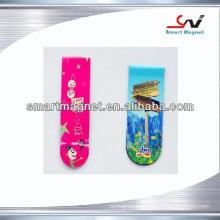 Imán barato promocional del refrigerador de la decoración del papel de cobre