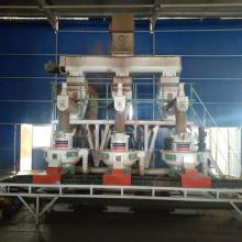 Linha de produção da máquina de aglomerados de biomassa
