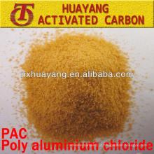 Polímero de alumínio polimérico / PAC altamente eficaz