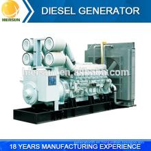 ¡¡¡Venta caliente!!! Prime / espera / energía continua 50HZ / 60HZ buena calidad mitsubishi generador diesel