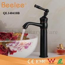 Orb Antique Faucet Single Lever Handle - Grifería de lavabo de baño, de pie, libre