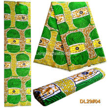 100% kain Polyester African Wax Print