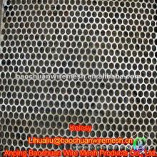 Metal perforado galvanizado negro de la alta calidad en almacén