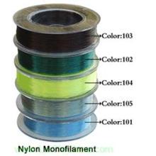 Línea de pesca monofilamento de nylon