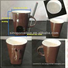 Nueva Fondue cerámica especial con mango para BS130125A