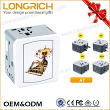 LongRich OEM и ODM Европейский адаптер для подключения адаптера USB