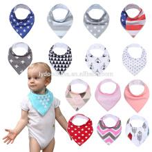 100% Baby Bib Baumwolle Geschenk Set-Lätzchen unisex für Sabbern und Zahnen Cute Baby Bandana Lätzchen