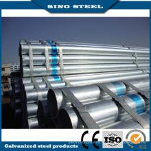 Tubo de acero galvanizado prepintado Q195 Z80 para material de construcción