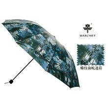 Faction du chef de guerre extérieure 25 pouces Windproof pliage parapluie en Camo