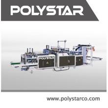 Высокое качество пластиковый мешок складной машина