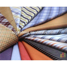 Ready Goods Long and short Sleeve Shirting 100% Cotton Yarn Dyed Check Fabric