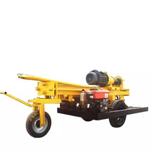 HQZ200 Pneumatic DTH Drilling Rig Water Borehole Drilling Machine for Sale