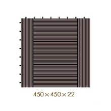 450 * 450 * 22 WPC / Plástico de madeira Composto DIY Floor