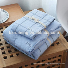 high end  bed sheet with pillow case quilt cover