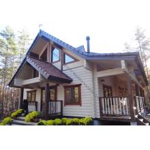 Maison en bois de luxe préfabriquée conçue