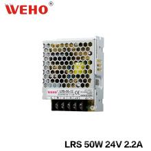 Fuente de alimentación de salida única Ultra Slim 50W 24V 2A