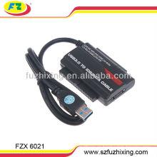 USB3.0 a 2.5 / 3.5 cable del convertidor de SATA / IDE