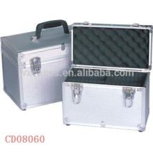high quality 20 CD disks(10mm)aluminum DVD box wholesales