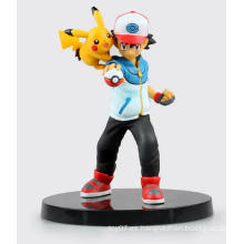 Alta calidad personalizada mini PVC dibujos animados mascota traje muñeca juguetes