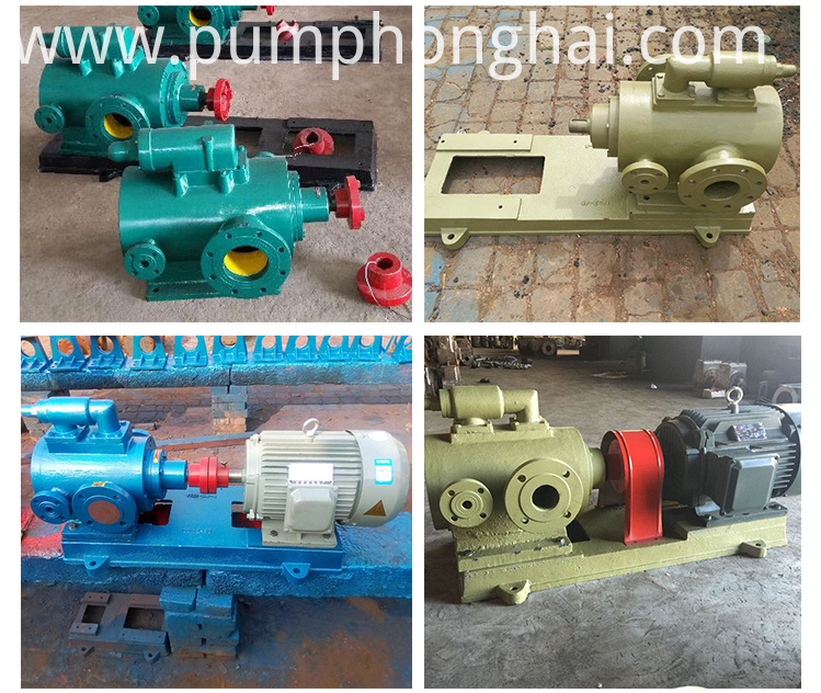 Unloading Screw Pumps