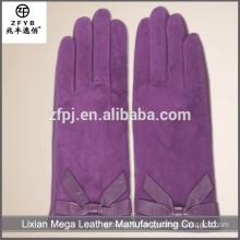 New design fashion low price Rabbit Fur Fingerless Gloves