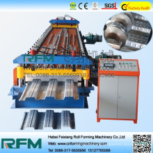 FX color steel floor decker tiles roll forming machine chinese supplier