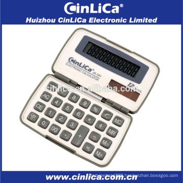 JS-12H dual power 12 digital small calculator