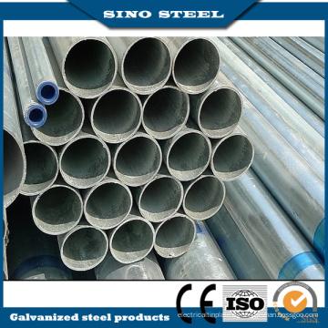 Tubo de acero galvanizado en caliente promocional para la construcción de estructuras