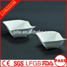 2015 New Design unique square ceramic/porcelain soup bowl desert bowl