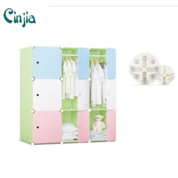 Adaptable Cube DIY Storage Wardrobe Cabinet, Plastic Wardrobe