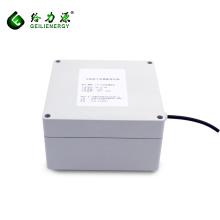 Capacidad personalizada / voltaje de ciclo profundo 30A 100Ah 12V 24V caja de batería solar para el panel solar