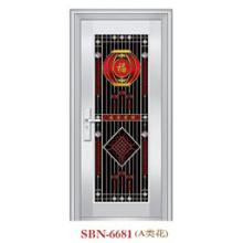 Porta de aço inoxidável para luz solar externa (SBN-6681)