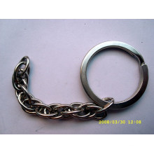 Small round shape metal key ring for sale