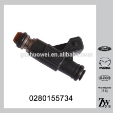 Débit statique à 3 bar 186,6 g / min soupape d'injection d'essence BOSCH 0280155734 pour FORD Dodge journey 2.7 V6