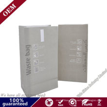 Disposable Printing Train Airplane Paper Airsickness Vomit Bag Hotel Sanitary Vomit Bag with Flat Bottom