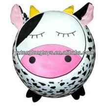 Hogar práctico felpa encantadora inflable taburetes animales para niños